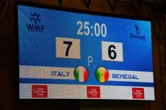 WC18 U21 Third place match  Colombia - Italia 6-0-1